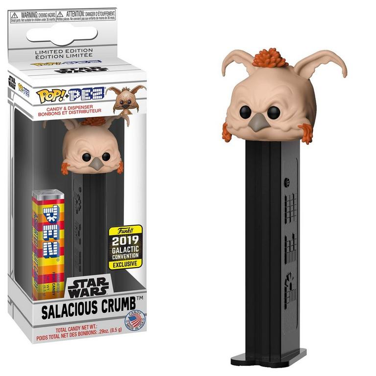POP! PEZ: Star Wars Salacious Crumb 2019 Galactic Convention Exclusive