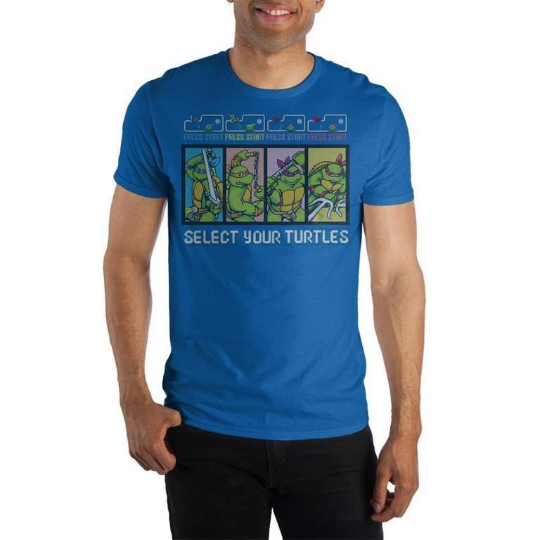 Teenage Mutant Ninja Turtles 8bit T-Shirt