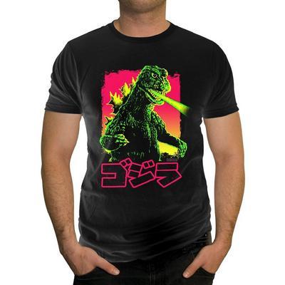 Godzilla Neon Sun T-Shirt