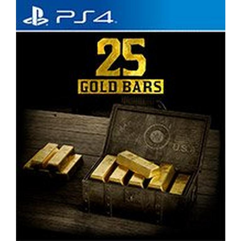 Red Dead Redemption 2 - 25 Gold Bars