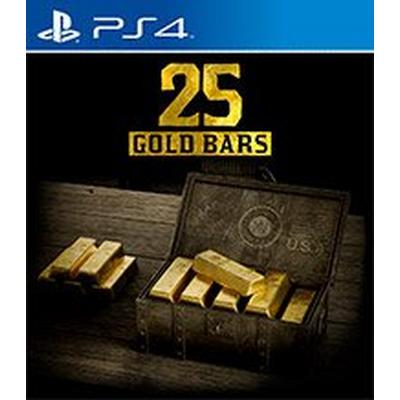 Red Dead Redemption 2 25 Gold Bars