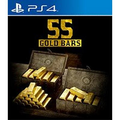 Red Dead Redemption 2 - 55 Gold Bars