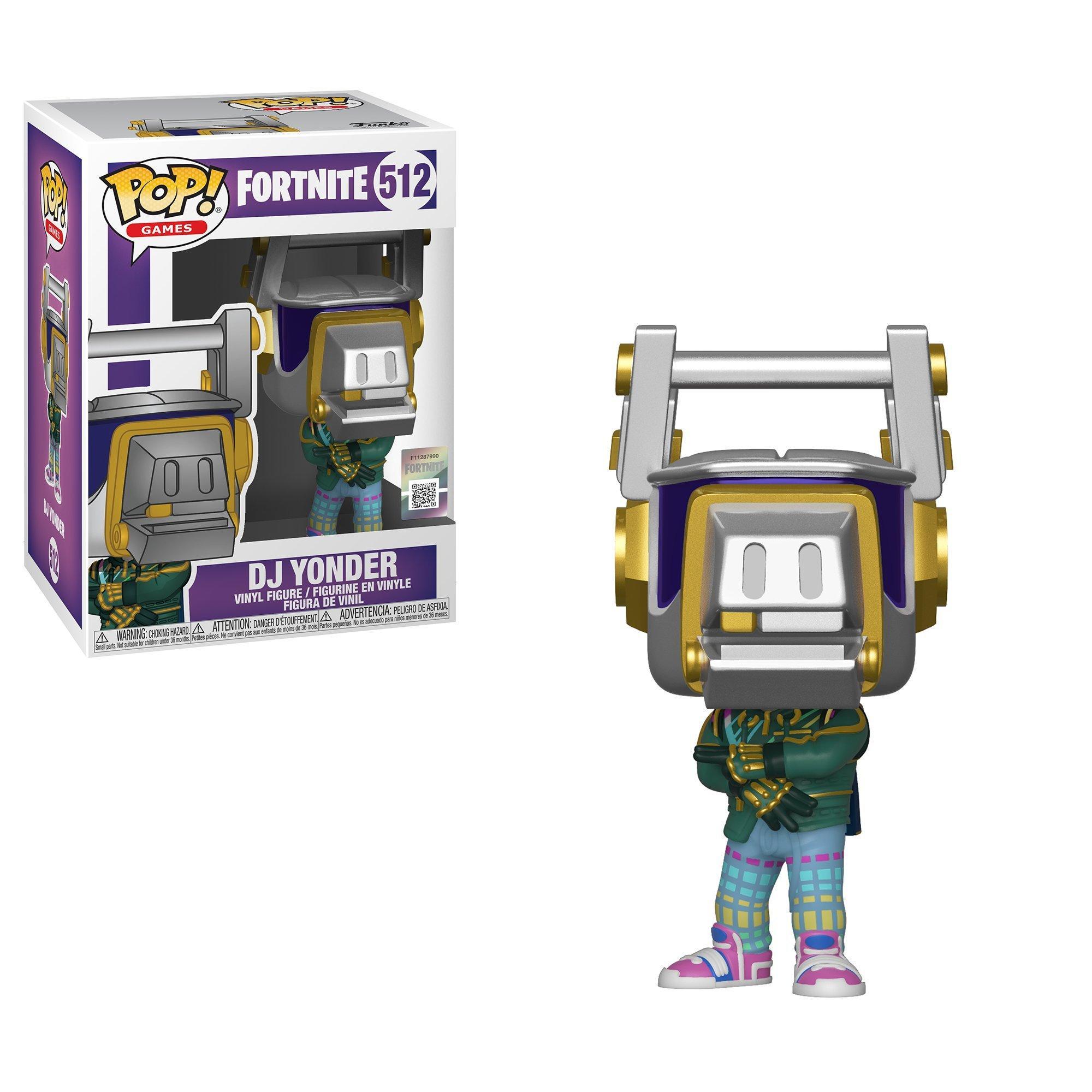 2019, Toy NUEVO Dj Yonder Fortnite Funko Pop Games: