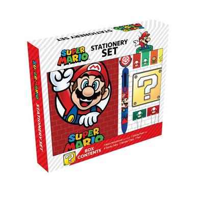 Super Mario Bros. Stationery Set