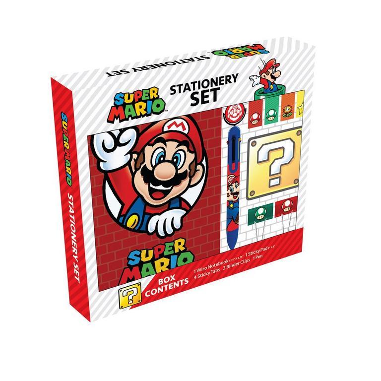 Super Mario Bros. Stationery Set