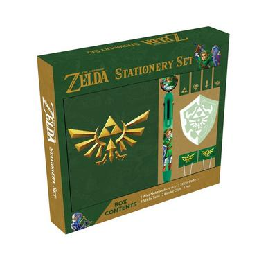 The Legend of Zelda Stationery Set