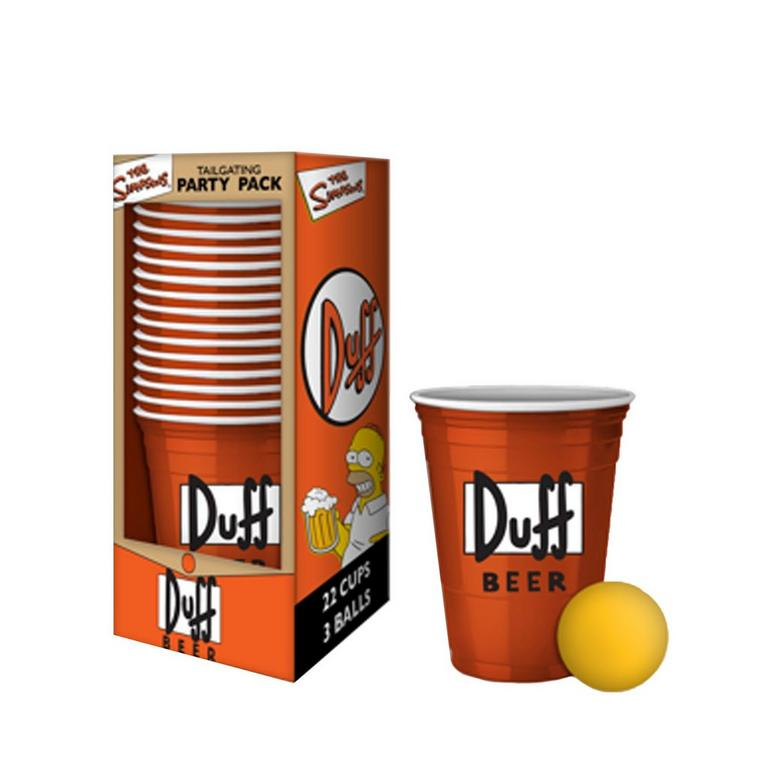The Simpson Duff's Beer Tailgating Party Pack