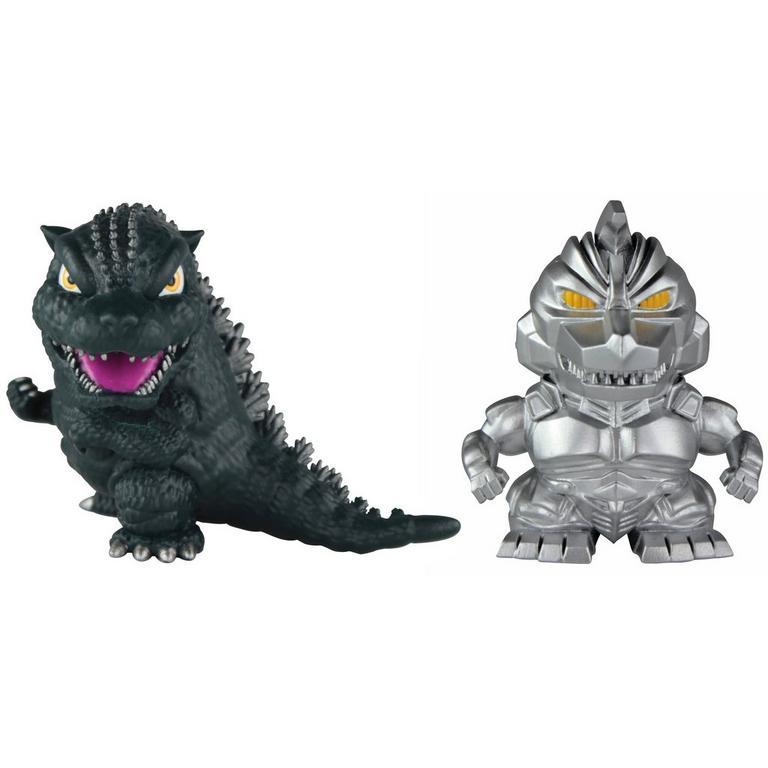 Godzilla: 2 Pack Classic 2 Inch Chibi Godzilla '93 & Mechagodzilla '93 Figures
