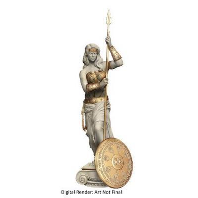 Wonder Woman Princess Of Themyscira Statue