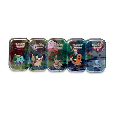 Pokemon Trading Card Game Kanto Friends Mini Tin (Assortment)