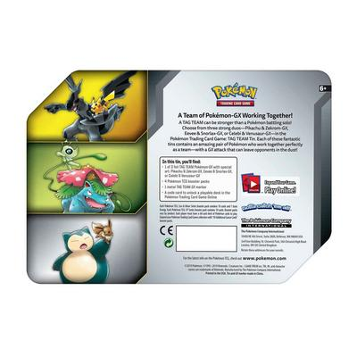 Pokemon Trading Card Game Tag Team Tin (Assortment)