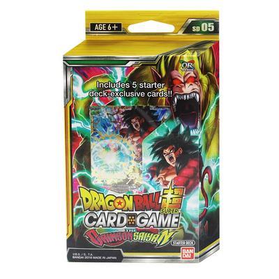 Dragon Ball Super Trading Card Game The Crimson Saiyan Booster Pack Starter Deck