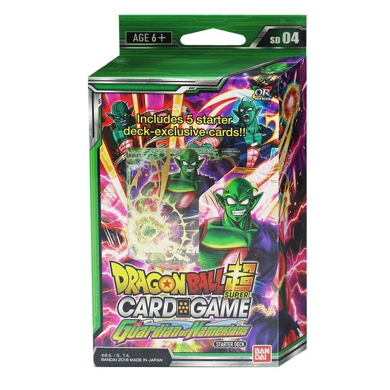 Dragon Ball Super Trading Card Game Guardian Of Namekians Starter Deck |  GameStop