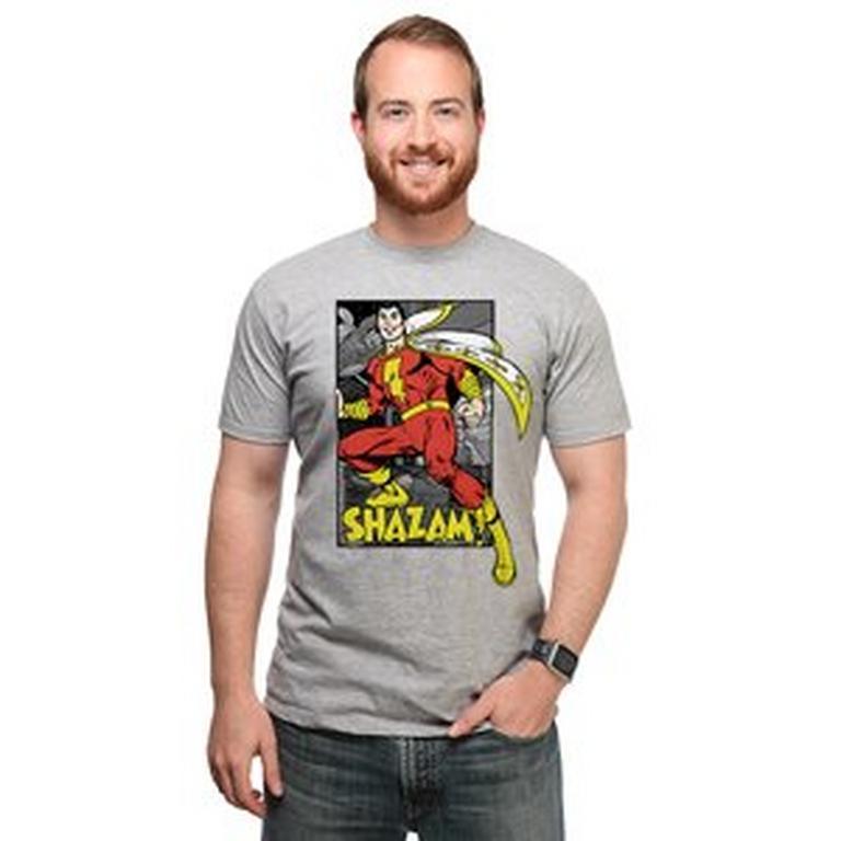 Shazam Comic T-Shirt