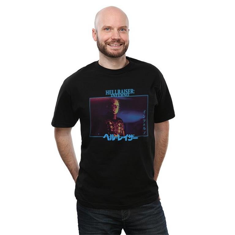 Hellraiser Inferno Kanji T-Shirt