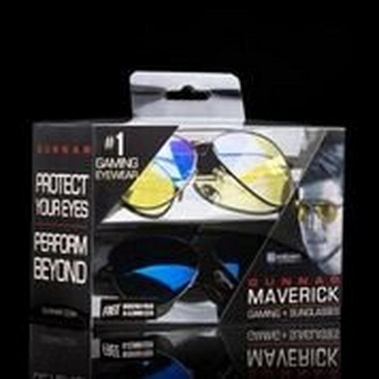 GUNNAR Maverick Gaming Glasses Combo