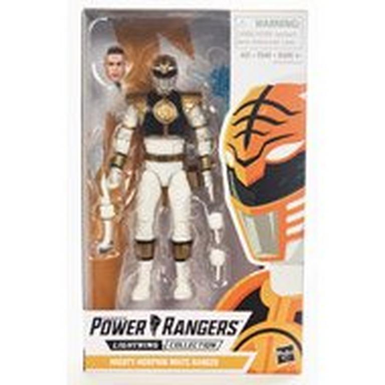 Mighty Morphin Power Rangers White Ranger Lightning Collection Action Figure