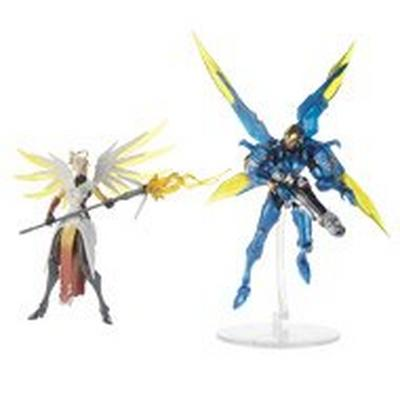Overwatch Ultimate Series Mercy and Pharah Collectible Action Figure Dual Pack