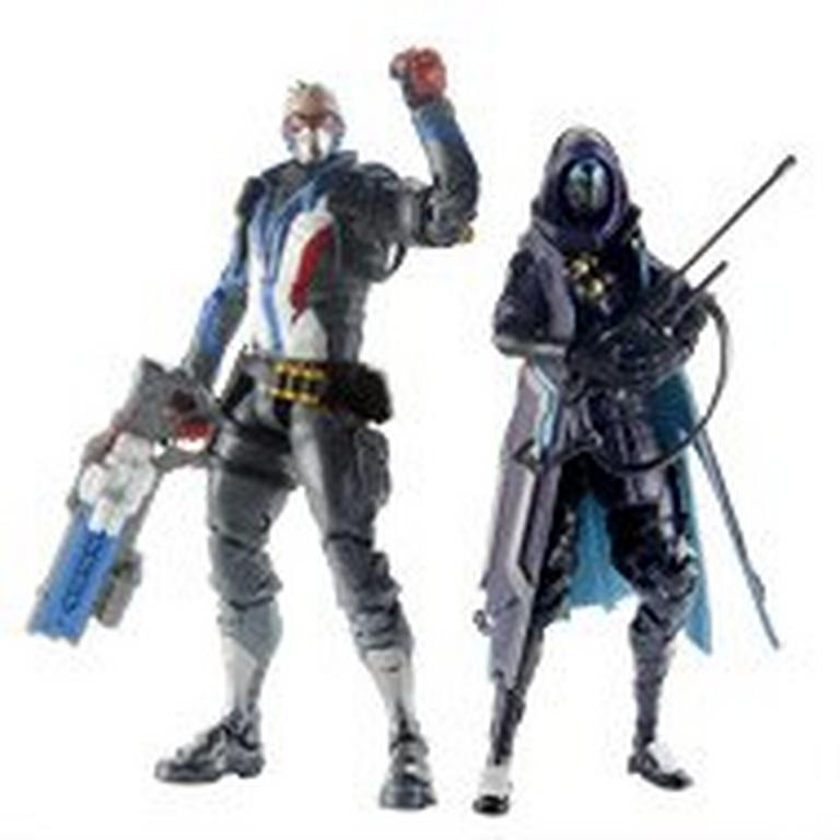 Overwatch Ultimate Series Shrike Ana and Soldier 76 Collectible Action Figure 2 Pack