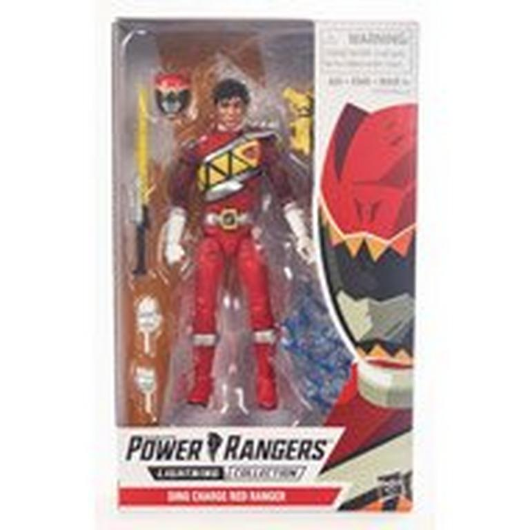 Power Rangers Lightning Collection Dino Charge Red Ranger Action Figure