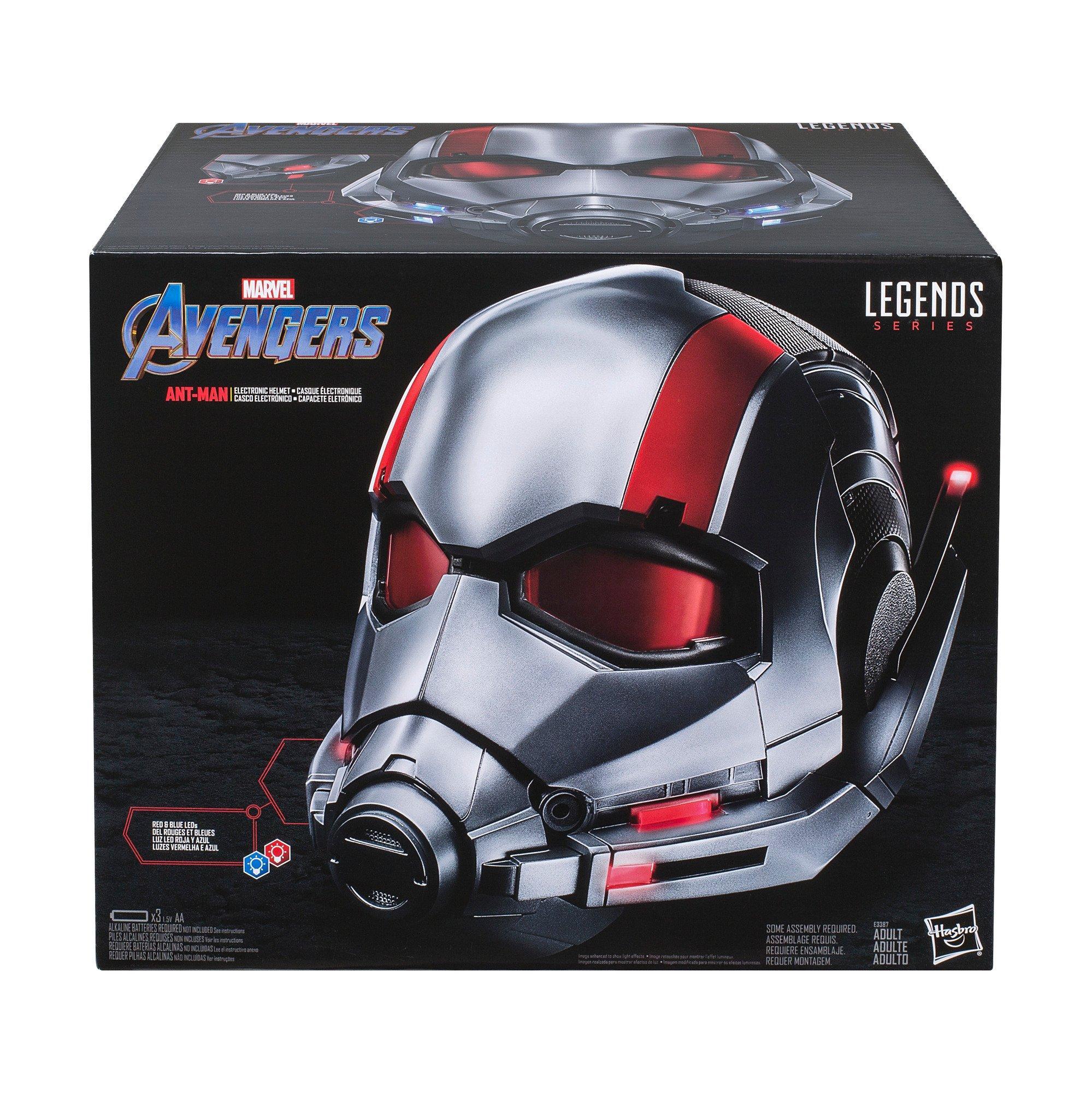Marvel Legends Series Ant Man Roleplay Premium Collector Movie Electronic Helmet Gamestop