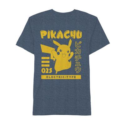 Pokemon Pikachu Electric Type T-Shirt