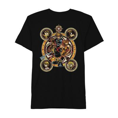 Kingdom Hearts Ornate Faces T-Shirt
