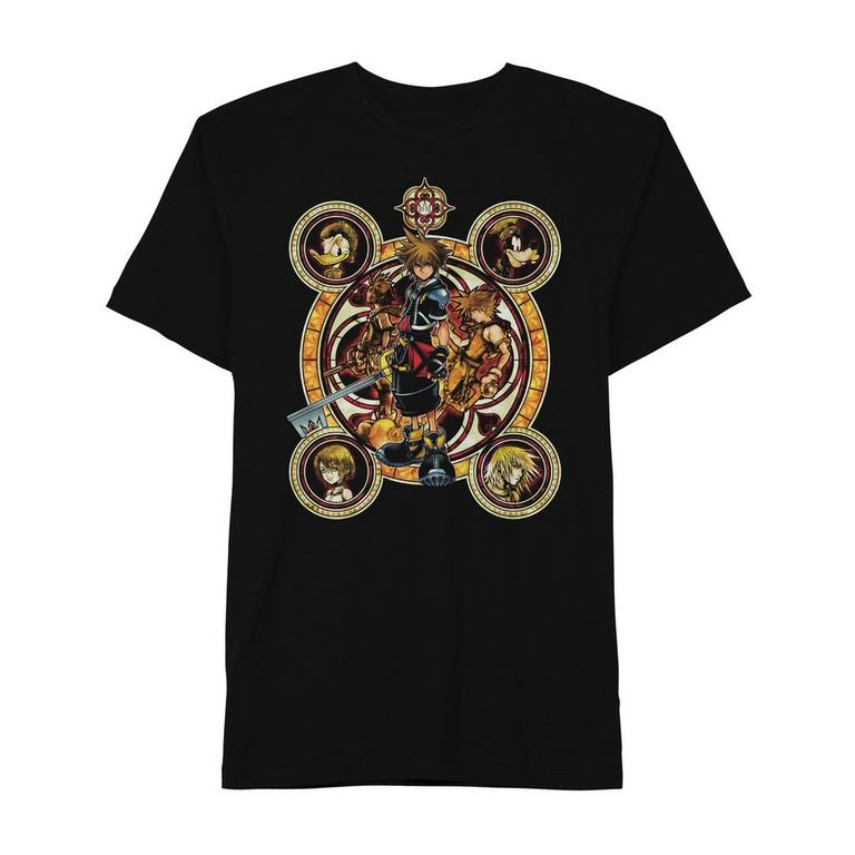 Kingdom Hearts Ornate Faces T-Shirt