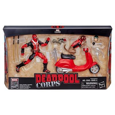 Marvel Legends Series Deadpool on Scooter 6 inch Figure