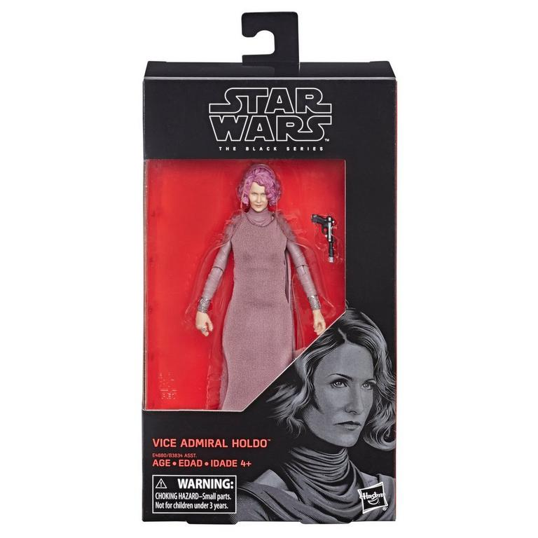 Star Wars Vice Admiral Holdo The Black Series Action Figure