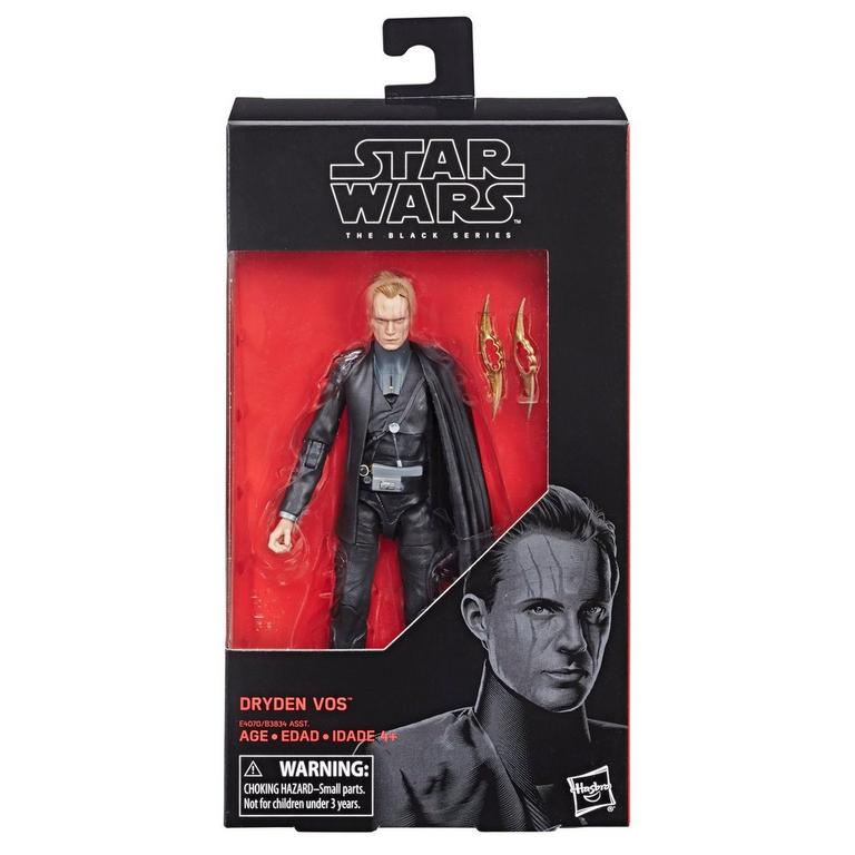 Star Wars Dryden Vos The Black Series Action Figure
