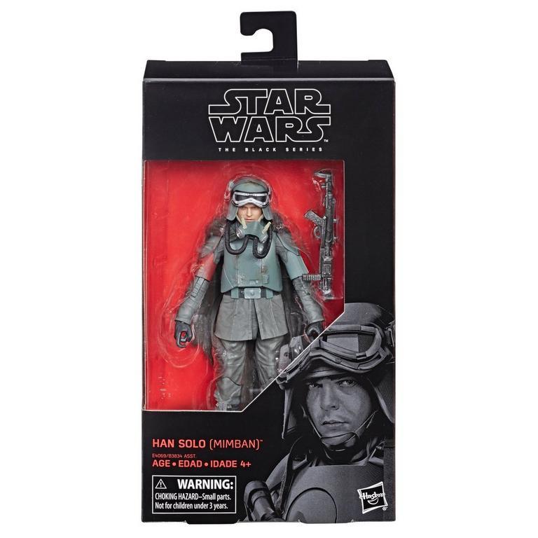 Star Wars Han Solo Mimban The Black Series Action Figure