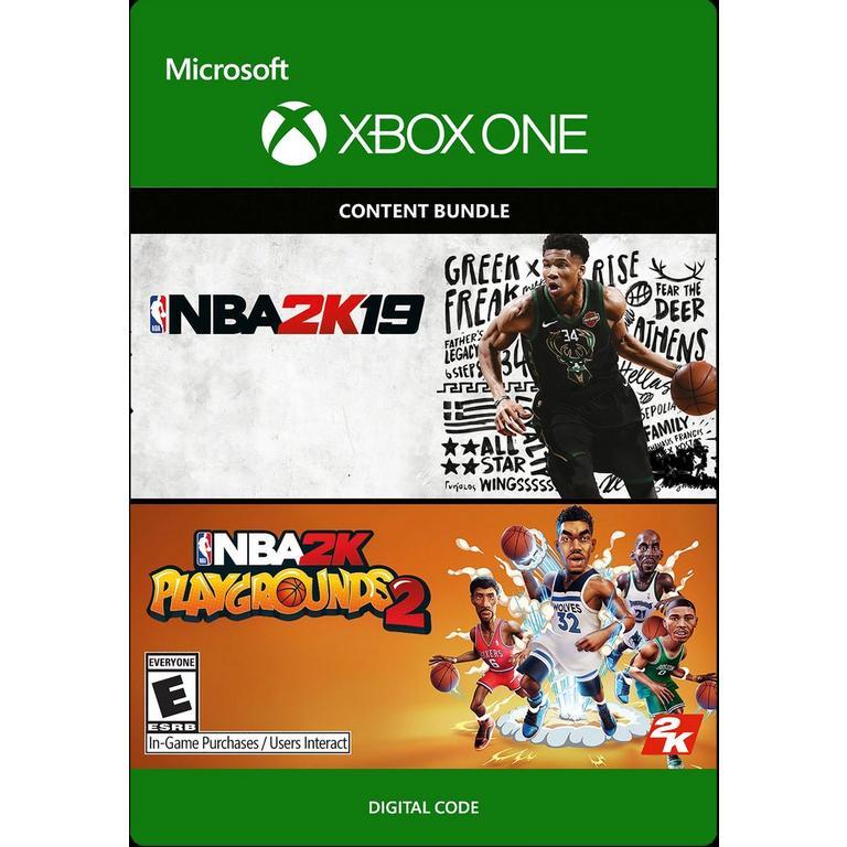 NBA 2K19 and NBA 2K Playgrounds 2 Bundle