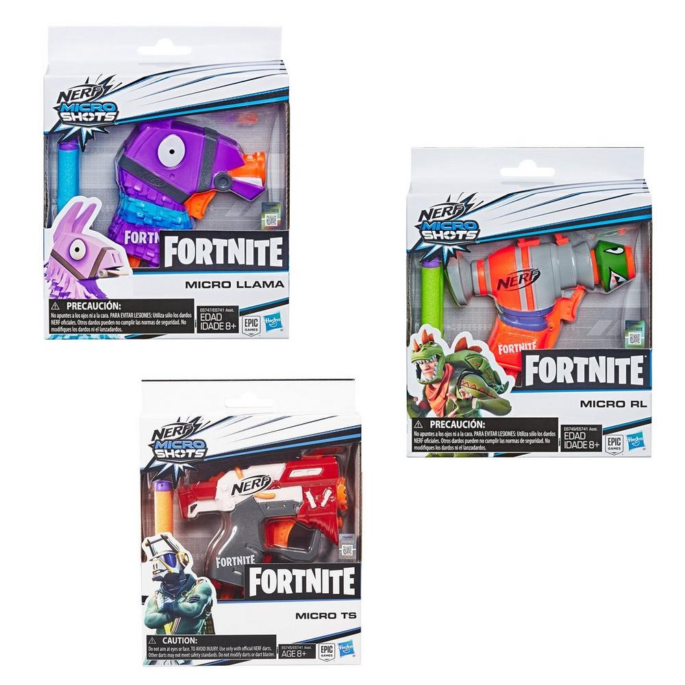 Fortnite Nerf Microshots Blaster (Assortment) | GameStop