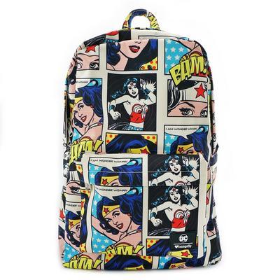 Wonder Woman Comic Backpack