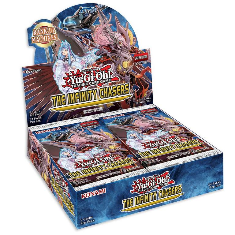 Yu-Gi-Oh! Trading Card Game The Infinity Chasers Booster Box