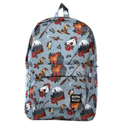 Harry Potter Relics Tattoo Backpack