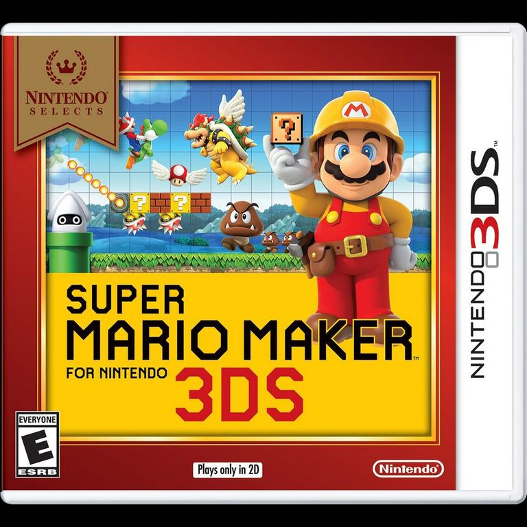 Super Mario Maker for Nintendo 3DS Nintendo Selects