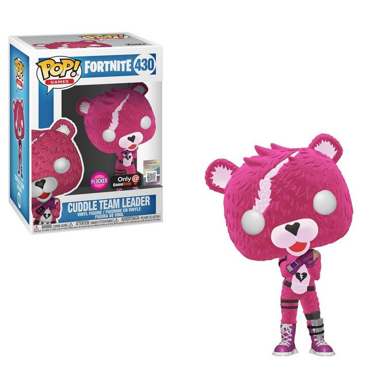 POP! Games: Fortnite Cuddle Team Leader Flocked Only at GameStop
