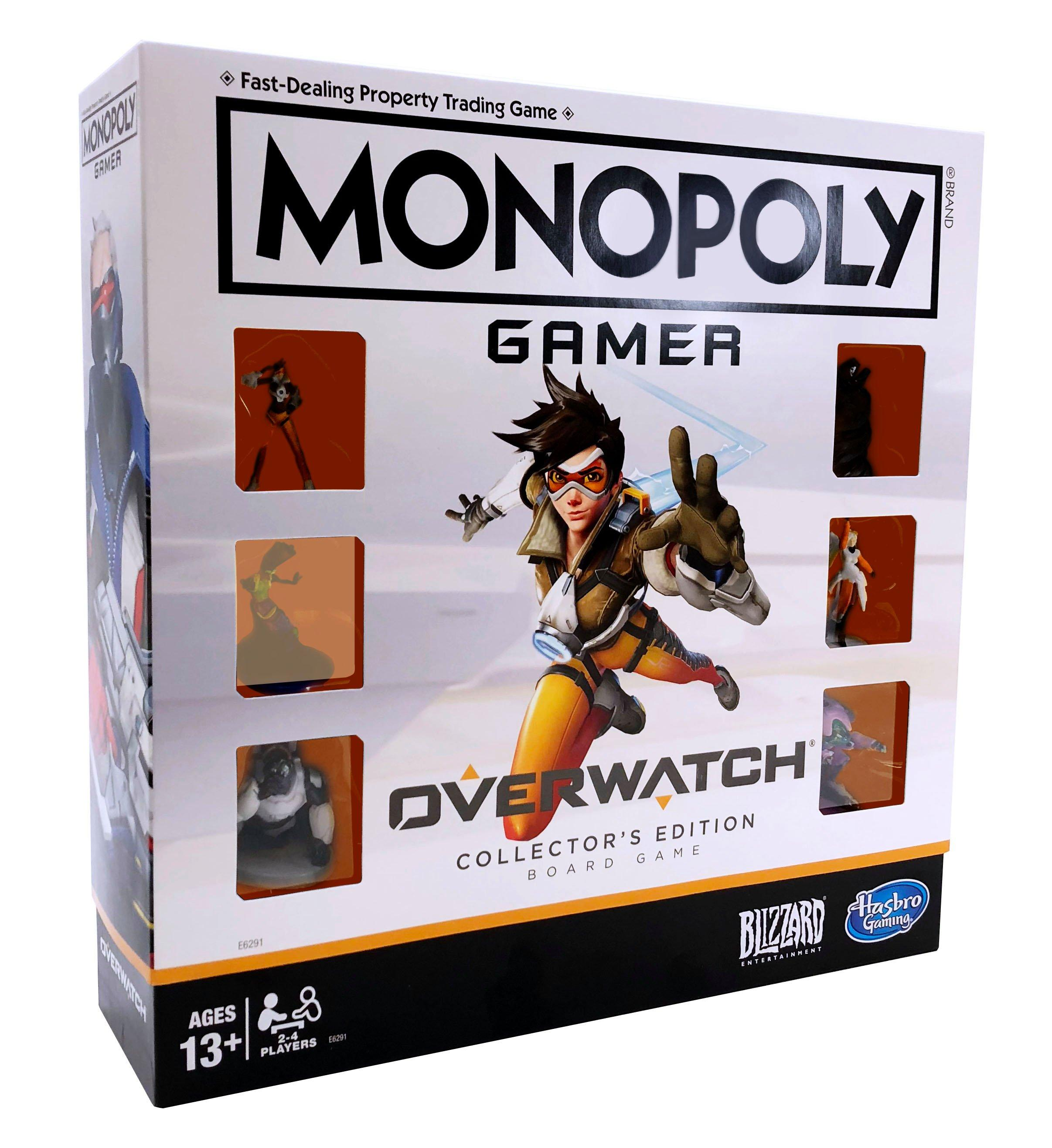 Monopoly Gamer Overwatch Collector S Edition Board Game Gamestop