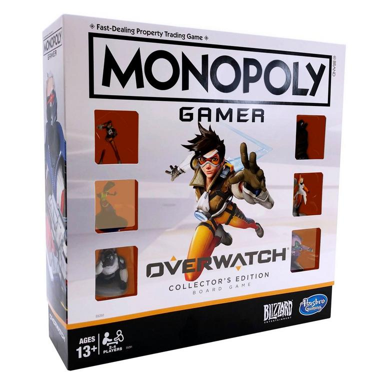 Monopoly Gamer: Overwatch Collector's Edition Board Game