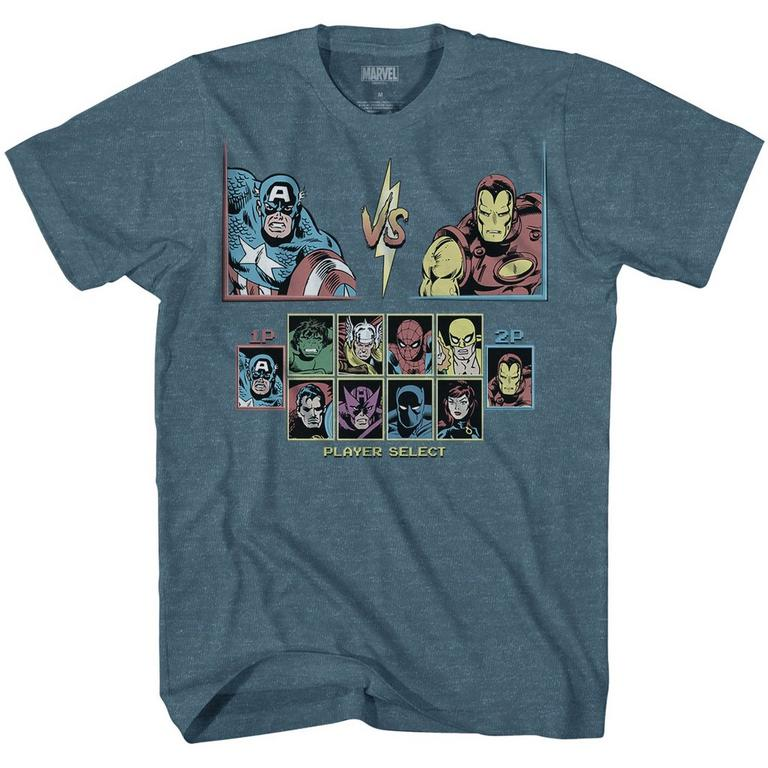 Marvel Superheroes Player Select T-Shirt
