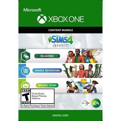 The Sims 4 Seasons, Jungle Adventure, Spooky Stuff Bundle