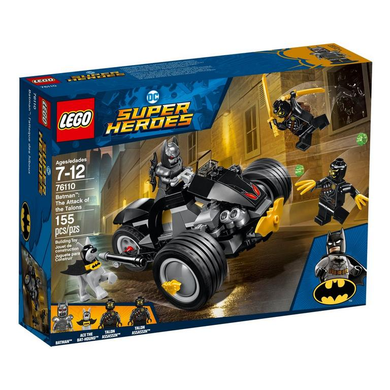 LEGO DC Super Heroes 76110 Batman: The Attack of the Talons 155 Piece Building Toy
