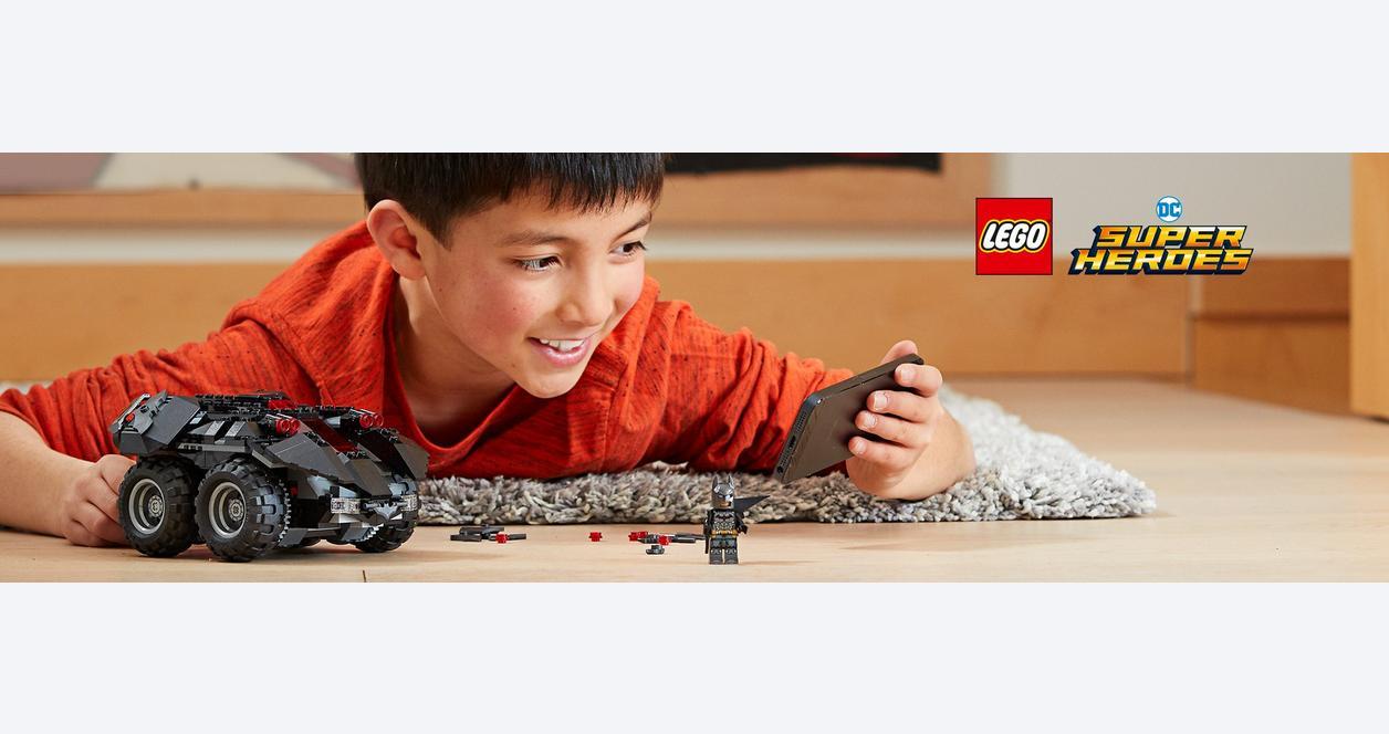 LEGO DC Super Heroes App-Controlled Batmobile 76112