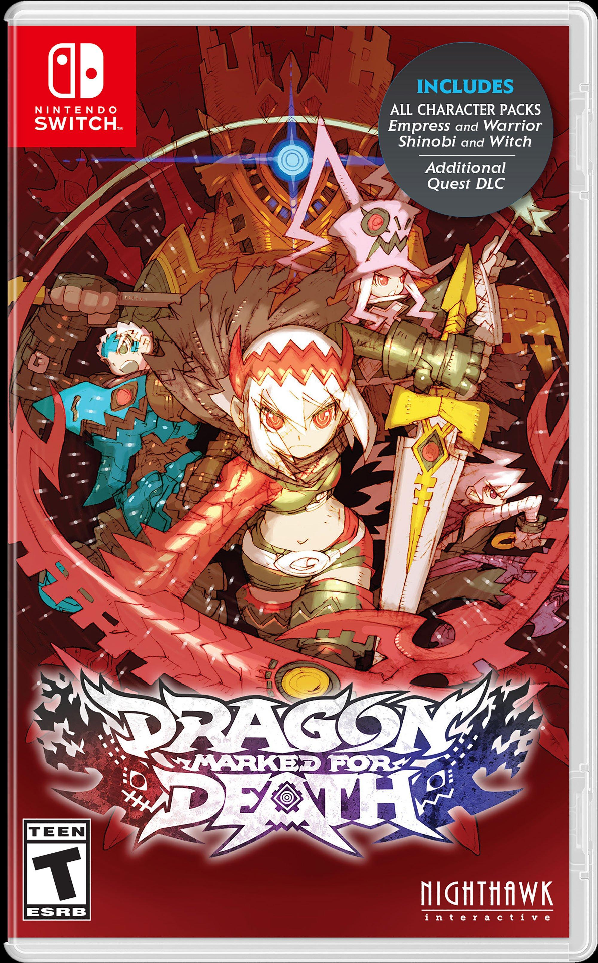 Resultado de imagem para Dragon Marked for Death switch