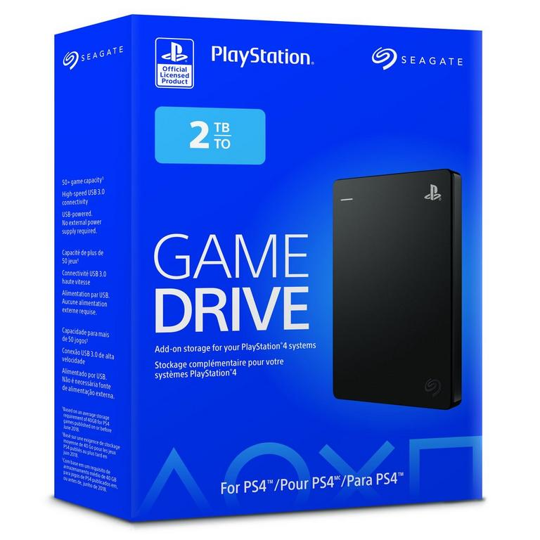 PlayStation 4 External Game Drive 2TB