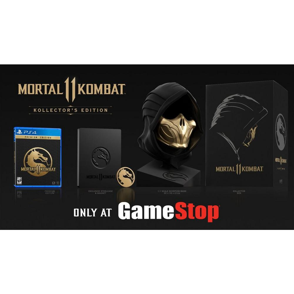 Mortal Kombat 11 Kollector's Edition - Only at GameStop | PlayStation 4 |  GameStop