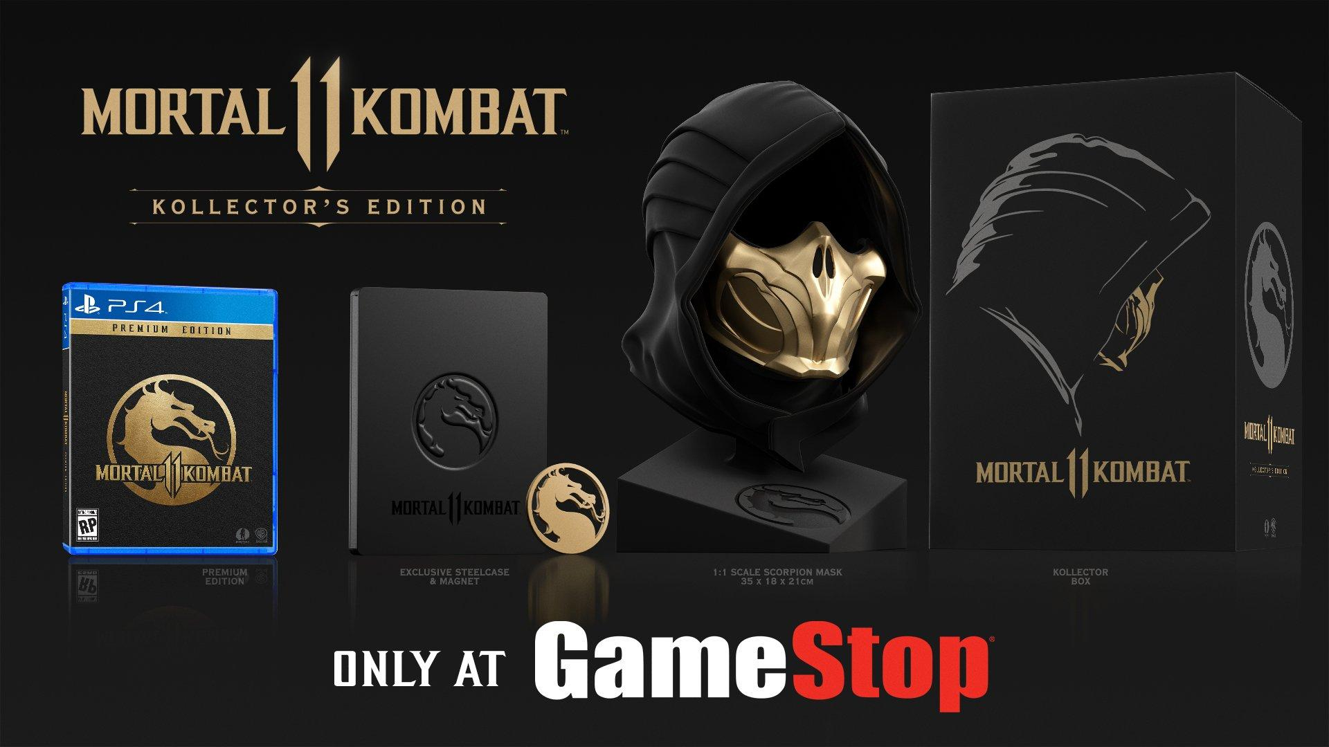 Mortal Kombat 11 Kollector S Edition Only At Gamestop Playstation
