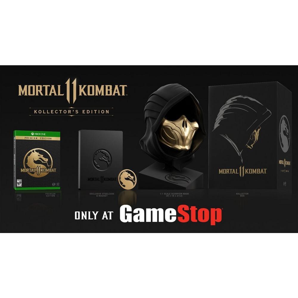 Mortal Kombat 11 Kollector S Edition Only At Gamestop Xbox One